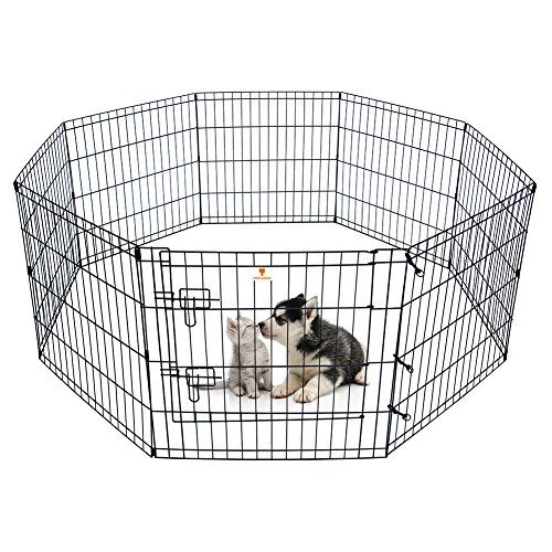 Peekaboo Pet Playpen Dog Fence Foldable Exercise Pen Yard For Cats