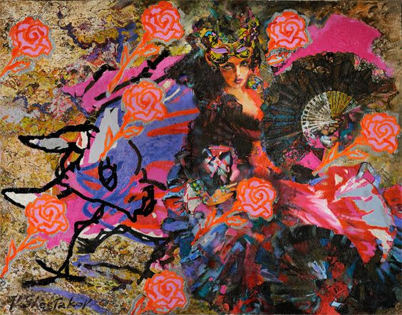 Artwork >> Vladimir Shestakov >> Arena Roses.