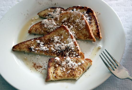 Breakfast! Basic French Toast