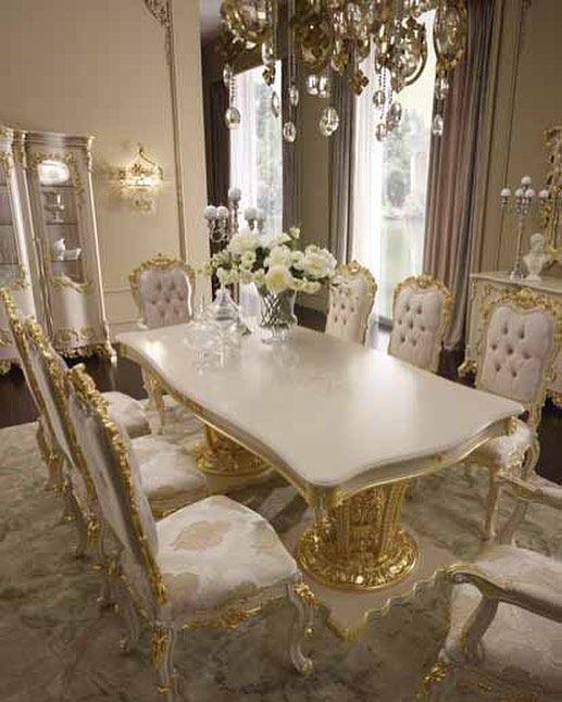 42++ Italian style dining room sets Inspiration