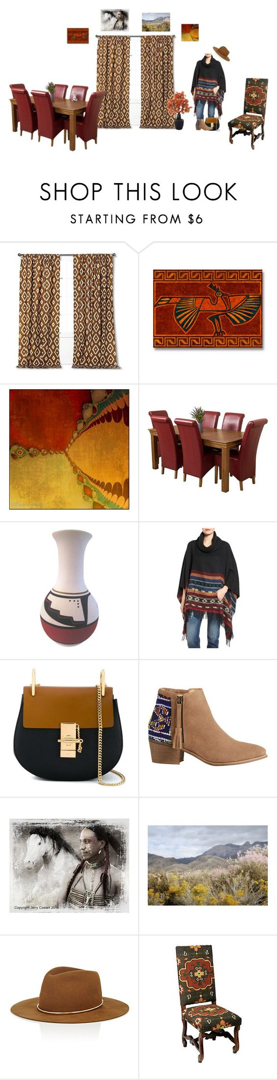 Threshold home decor shop for threshold home decor on polyvore - A Home Decor Collage From December 2016 Featuring Leather Dining Table Nailhead Accent Chair And Threshold Home Decor Browse And Shop Related Looks