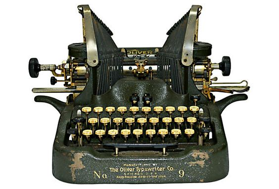 Oliver No. 9 Typewriter on OneKingsLane.com