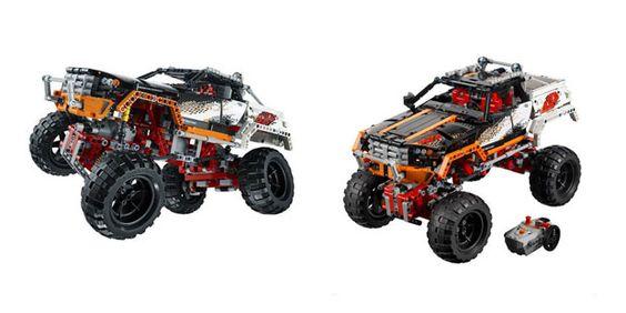 Fuoristrada 4x4 di Lego