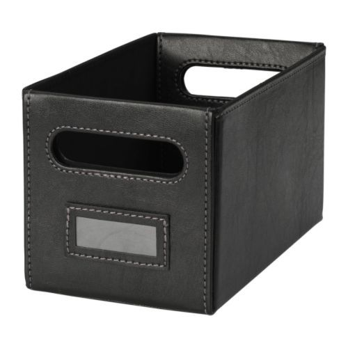 kn s box ikea this box is perfect for storing your cds. Black Bedroom Furniture Sets. Home Design Ideas
