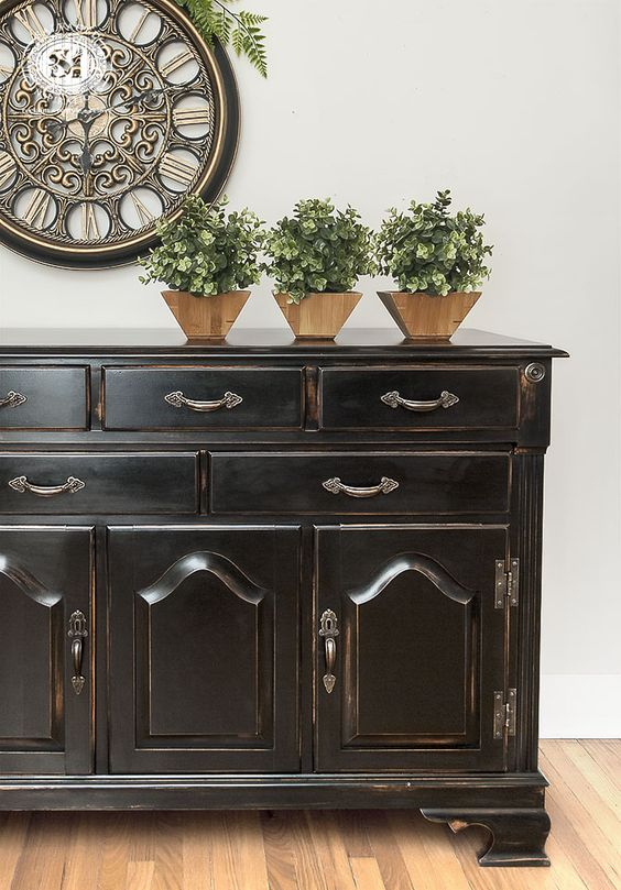 If You Love The Black Pottery Barn Furniture As Much As I Do Here A Tutorial On How To Get The