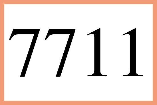 7711のエンジェルナンバーの意味は 正しく思考を選択できています です More Than Ever エンジェル ナンバー 思考 エンジェル