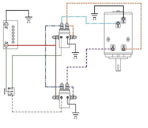 yamaha 50 wiring diagram free download schematic winch wiring diagram - http://www.automanualparts.com ... #12