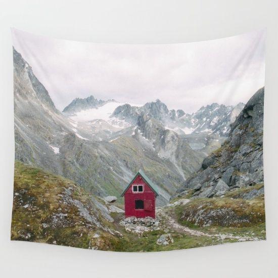 Tapestry mint hut, alaska