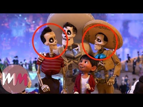 Top 10 Coco Easter Eggs You Never Noticed Youtube Easter Eggs Coco 10 Things
