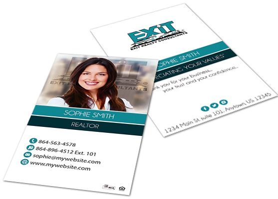 Exit Realty Business Cards Exit Realty Business Card Templates Exit Realty Printing Business Cards Business Card Design