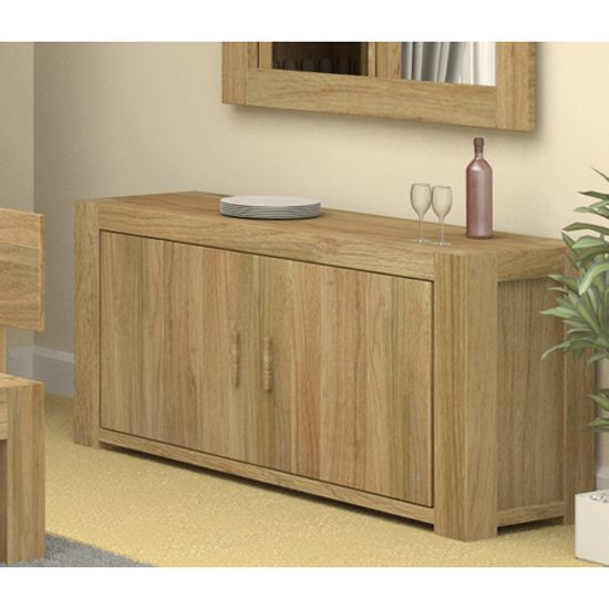 Malta Wooden Sideboard In Oak With 2 Doors Furniture Pinterest Solid And Woods