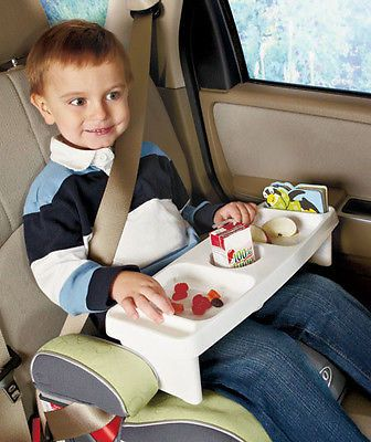 kids lap lunch super lap tray car or home several food snack drink slots