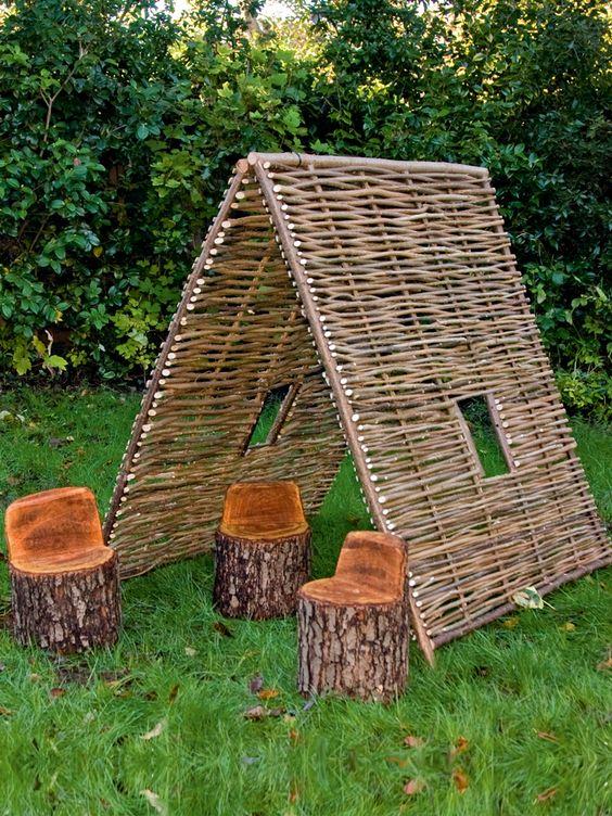 Hazel Tent | Cox & Cox. Love this for the grandchildren.£125.140x110x120cms.