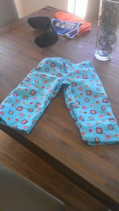 Blue PJ pants