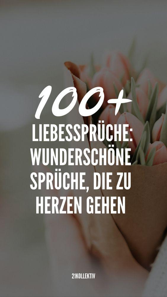100 Liebessprüche Sprüche Die Zu Herzen Gehen Liebe