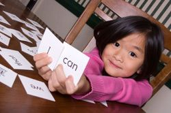 free word lists and flash cards