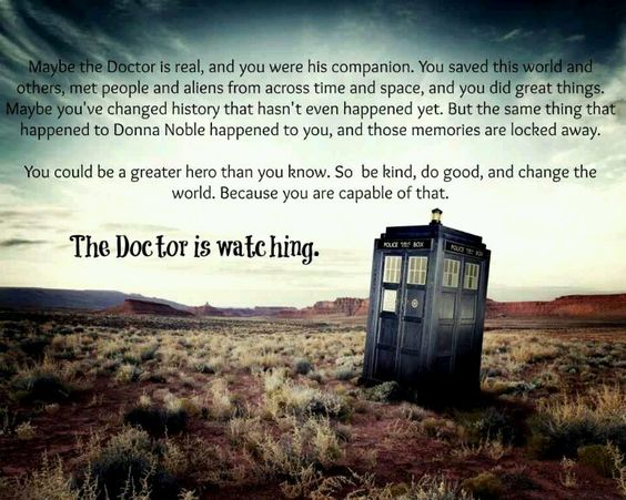 Omg i would so go to away with the dr. Who