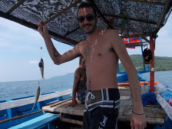 Câu cá ở Koh Rong