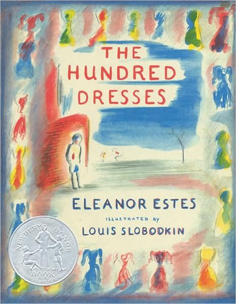 The Hundred Dresses  by Eleanor Estes - great book that teaches empathy and treating others as you would want to be treated.  A classic!