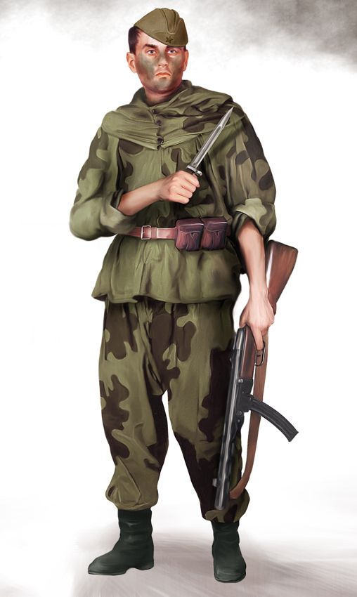 Soviet 'Green ghost' scout.