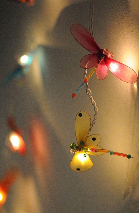 Garden String Lights Pinterest : Party String Lights Dragonfly Lights 20CT 10FT Lighting, Outdoor parties and String lights