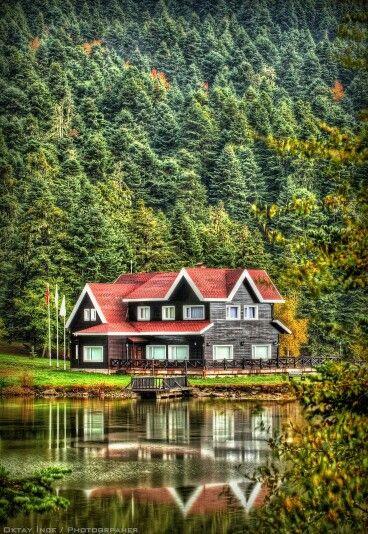 Lago Abant Parque Natural, Bolu, Turquía