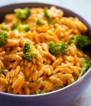 Cheezy Broccoli Orzo: Cheezy Broccoli, Vegan Recipe, Vegan Cheezy, Cheesy Broccoli, Vegan Pasta, Food Drink, Broccoli Orzo