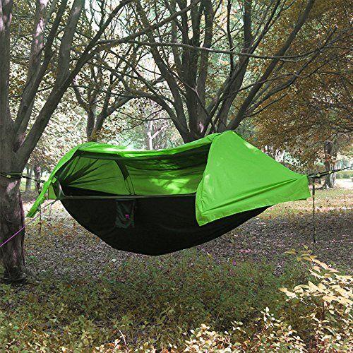 Camping Hangematte Mit Moskitonetz Und Regenschutz Lei