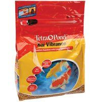 $14.73-$19.57 Tetra 16494 Koi Vibrance Sticks Fish Food, 1.43-Pound - Koi Vibrance Sticks are a premium staple diet for these prized fish and contain natural color enhancers to help koi achieve full coloration. A highly nutritional diet that provides the basics and brings out vibrant reds and yellows on koi and ornamental goldfish. Sticks are made with a hollow center for easy digestion and maxim ...