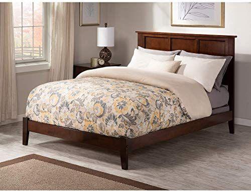 Best Seller Queen Traditional Bed Walnut Brown Wood Online In 2020