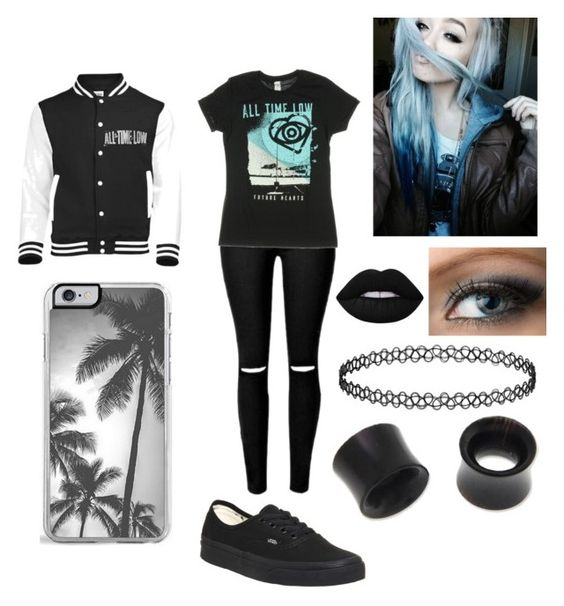 """""""All Time Low"""" by bvb4life21 ❤ liked on Polyvore featuring Vans, Zero Gravity, Lime Crime and NOVICA"""