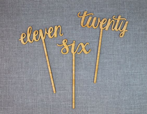 Calligraphy cakes and gold table numbers on pinterest