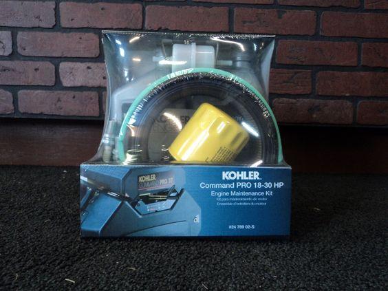 KOHLER Engine Maintenance Kit Command PRO Twin Cylinder Series 18-30 HP 24 789 02-S
