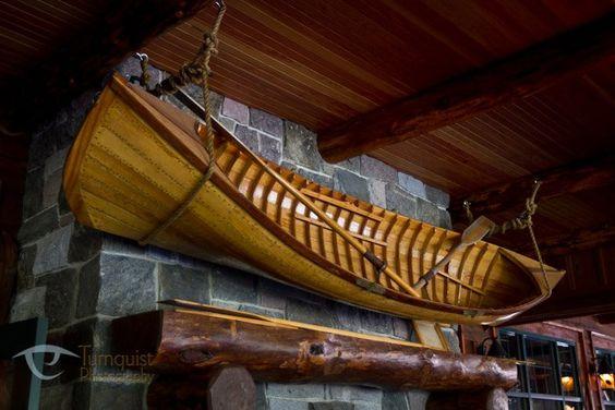 Canoe on wall nautical decor ideas pinterest