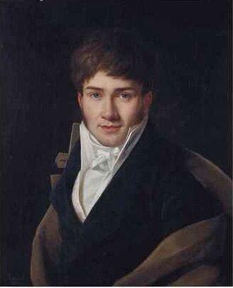 François-Henri Riesener (Paris, 1767-1828).  Portrait of a Gentleman; Signed and dated 'Riesener/1810' (bottom left); Oil on canvas, 65.2 x 53.5 cm. (25 5/8 x 21 in.)