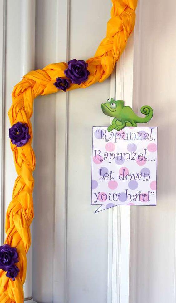 Best New Rapunzel Party Decorations YET! Ideas for Rapunzel Hairu2026 | Pinterest | Rapunzel Cumpleaños y Cumple. & Best New Rapunzel Party Decorations YET! Ideas for Rapunzel Hair ...