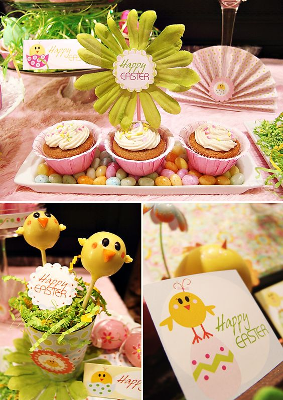 """Darling """"Little Chick"""" Easter Party Theme // Hostess with the Mostess®"""