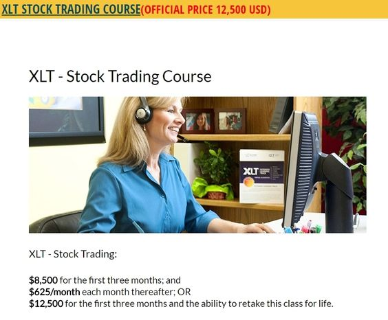 Xlt options trading course download