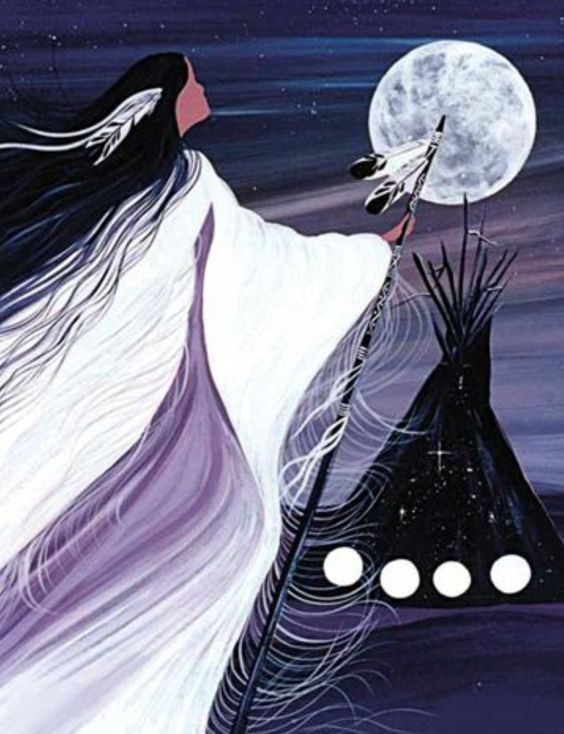 NovemberMoon                                              Cree Artist, BettyAlbert