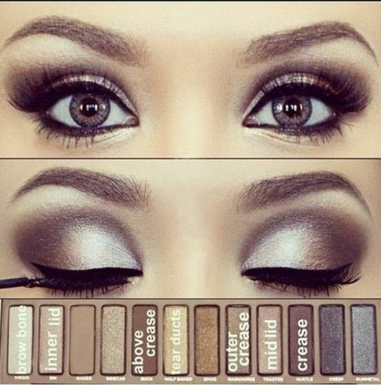 Whatever outfit you're rocking tonight, a smokey eye will always be a winner. We're definitely going to give this one a go!
