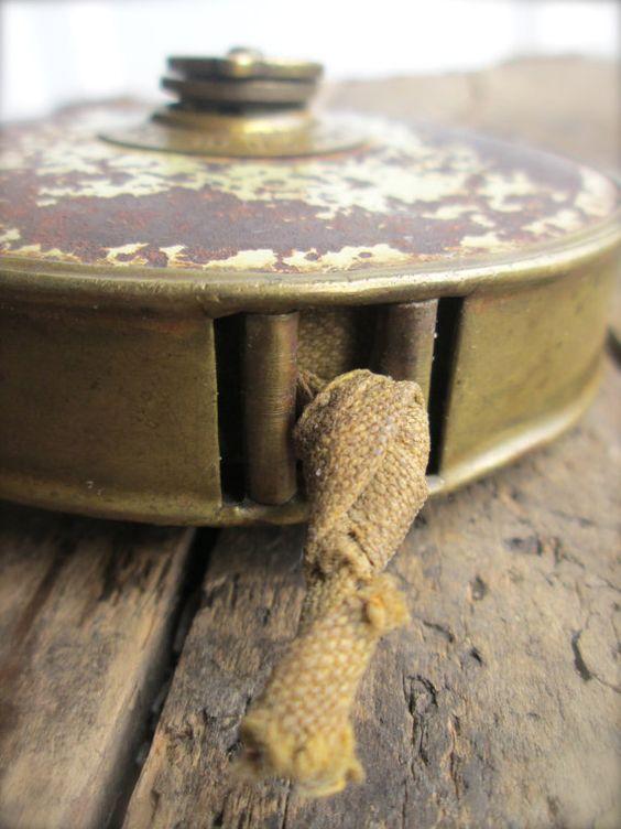 Vintage Cloth measuring Tape winding tape