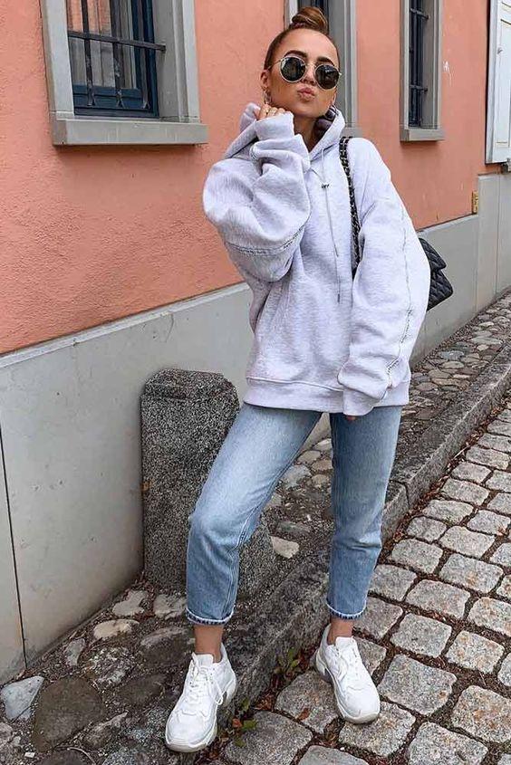 4 cách mix áo hoodie chuẩn chỉnh cho nàng - ảnh 1