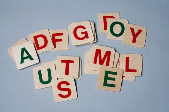 Montessori felt letters