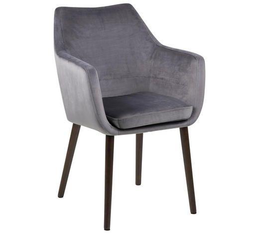 Samt Stuhl In Grau Hier Online Entdecken Graue Esstische Armlehnstuhl Armlehnstuhl Esszimmer