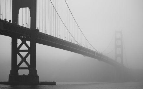 Golden Gate - Morning fog