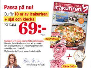 Icakuriren är Sveriges mest älskade veckomagasin