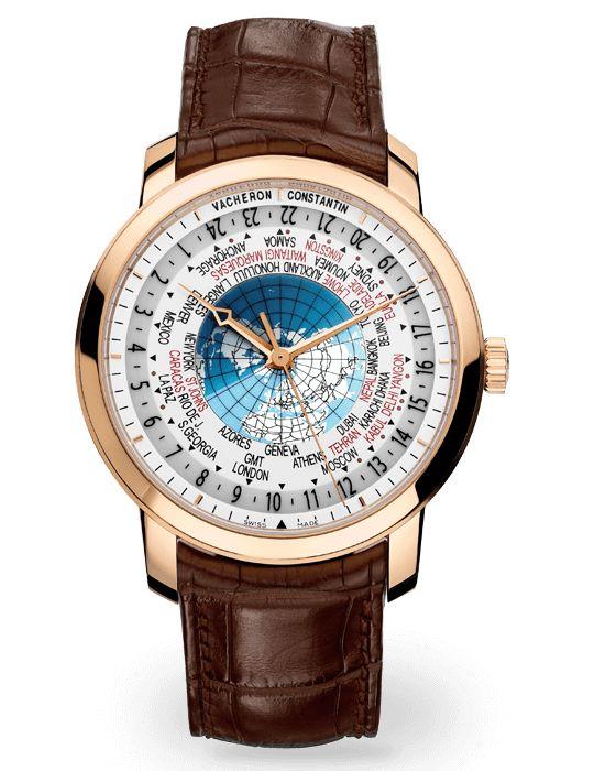 El #VacheronConstantine Traditionelle World Time es el reloj perfecto para hombres de negocios que viajan mucho y no tienen tiempo de estar ajustando la hora