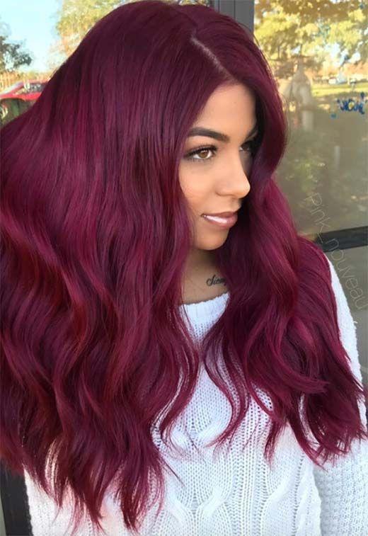 63 Yummy Burgundy Ideas Burgundy Hair Dye Tips Tricks Maroon