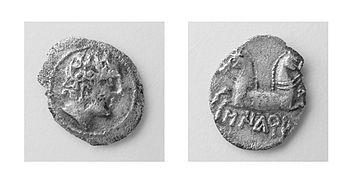Moneda Sikarra. És la proposta del Museu Comarcal de Cervera per al viquiprojecte 'Una Joia del Museu' (DIM 2013)