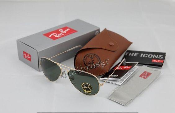b3a8745030142 ... discount code for all new rayban 3025 l0205 green classic aviator mens  womens sunglasses ebay ea5b2